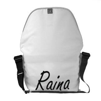Raina artistic Name Design Courier Bag