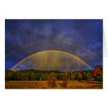 Rainbow #0954 greeting card