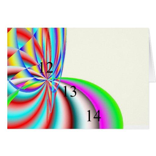 Rainbow 12.13.14 Greeting Card