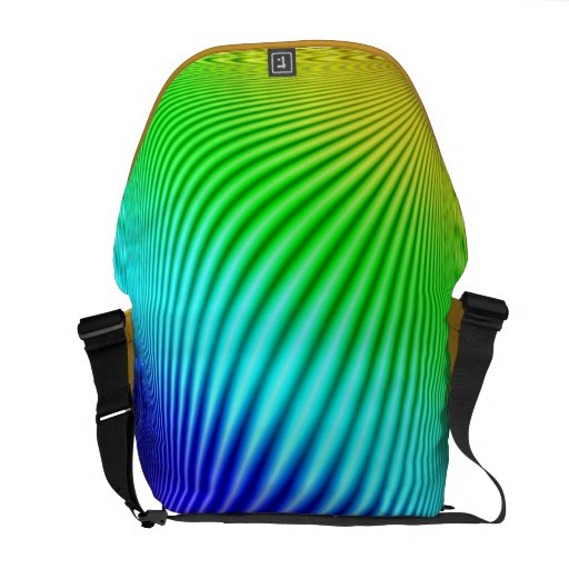 Rainbow 1 courier bags