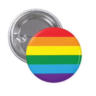 Rainbow 1 Inch Round Button