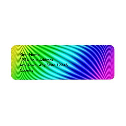 Rainbow 1 label