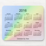Rainbow 2016 Calendar by Janz Mousepad