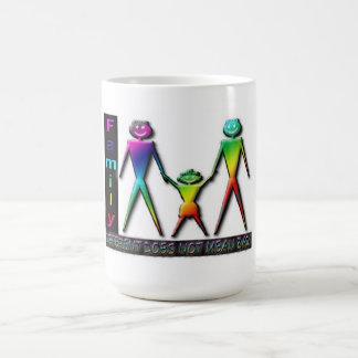 Rainbow 2 Dads Coffee Mug