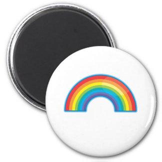 Rainbow 2 Inch Round Magnet