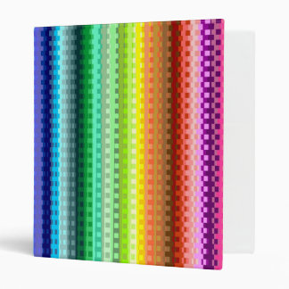 Rainbow 3 Ring Binder