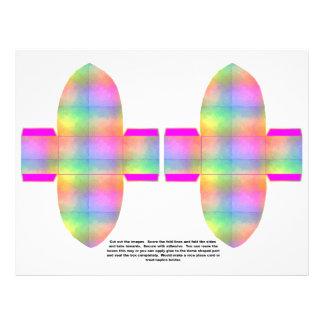 Rainbow 3D Box Flyer Design