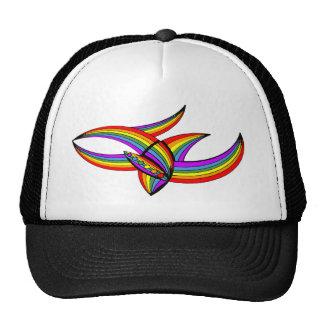 Rainbow # 4 Tattoo Trucker Hat