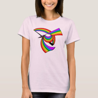 Rainbow # 5 Tattoo T-Shirt