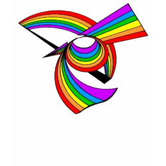 Rainbow # 5 Tattoo shirt