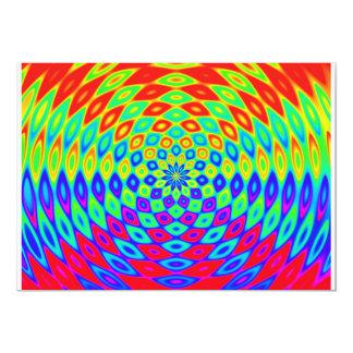 rainbow-882895 DIGITAL COLOURFUL RAINBOW ABSTRACT 5x7 Paper Invitation Card