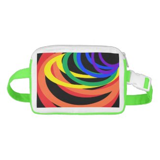 Rainbow Abstract Colors Fanny Pack