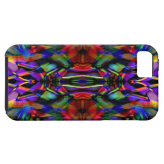 Rainbow Abstract Fractal Art iPhone 5 Covers