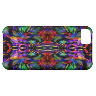 Rainbow Abstract Fractal Art iPhone 5C Case