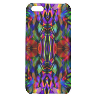 Rainbow Abstract Fractal Art Cover For iPhone 5C