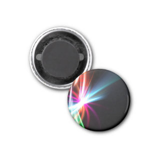 Rainbow Abstract Fractal Magnet