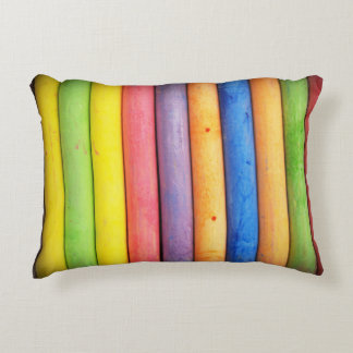 rainbow accent pillow