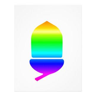 Rainbow Acorn Letterhead