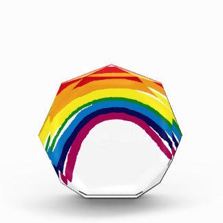 rainbow acrylic award