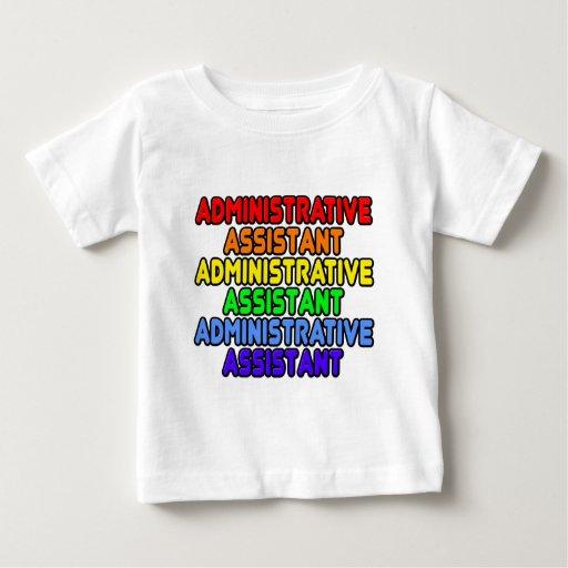 Rainbow Administrative Assistant T-shirts T-Shirt, Hoodie, Sweatshirt
