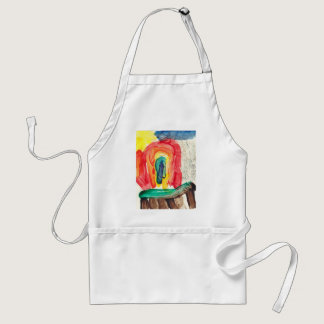 Rainbow Adult Apron