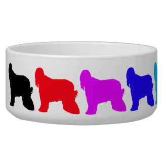 Rainbow Afghan Pet Bowl