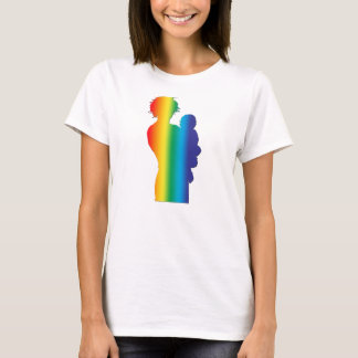 Rainbow African American mom and baby T-Shirt