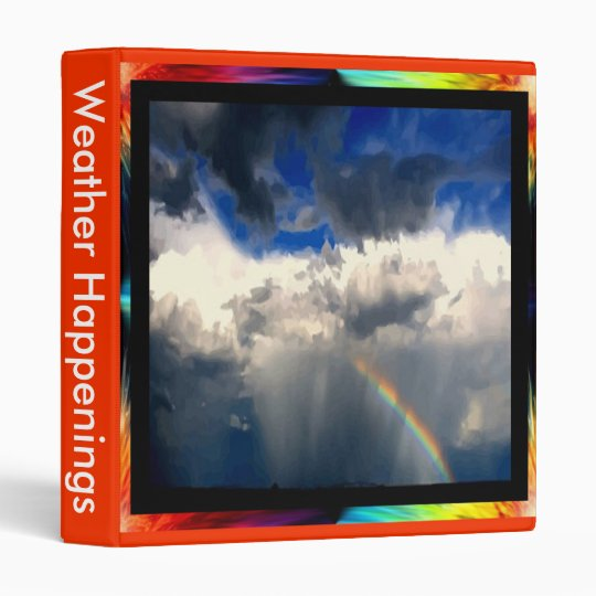 Rainbow After the Storm Binder