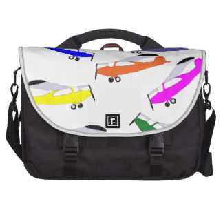Rainbow Airplanes Bag For Laptop