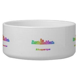 Rainbow Albuquerque skyline Bowl