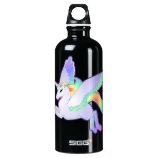 Rainbow Alicorn Aluminum Water Bottle