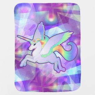 Rainbow Alicorn Baby Blanket