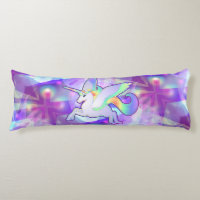 Rainbow Alicorn Body Pillow