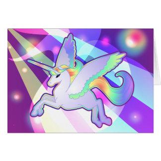 Rainbow Alicorn Card