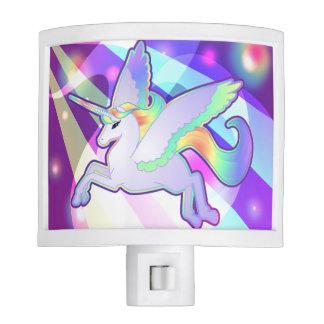 Rainbow Alicorn Night Light