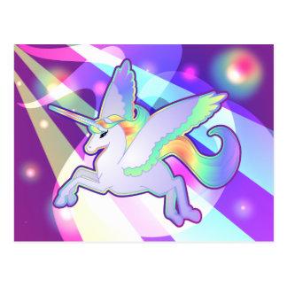 Rainbow Alicorn Postcard