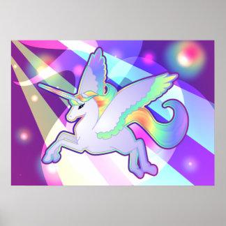 Rainbow Alicorn Poster