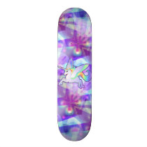 Rainbow Alicorn Skateboard
