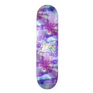 Rainbow Alicorn Skateboard