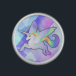"Rainbow Alicorn Speaker<br><div class=""desc"">Winged unicorn with rainbow color scheme.</div>"