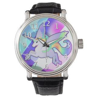 Rainbow Alicorn Wrist Watch