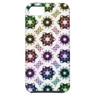Rainbow Alien Eye Fractal Art Pattern iPhone 5 Case