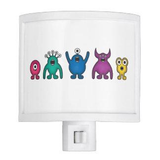 Rainbow Alien Monsters Nite Lights