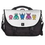 Rainbow Alien Monsters Computer Bag