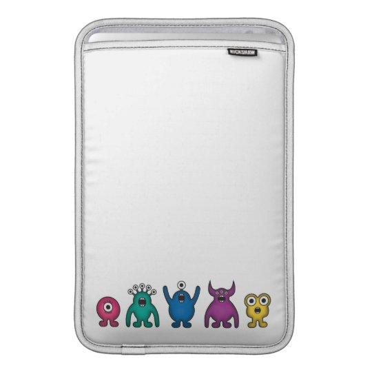 Rainbow Alien Monsters Sleeve For MacBook Air