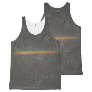 Rainbow All-Over-Print Tank Top