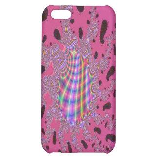 Rainbow Amoeba Fractal Art Case For iPhone 5C