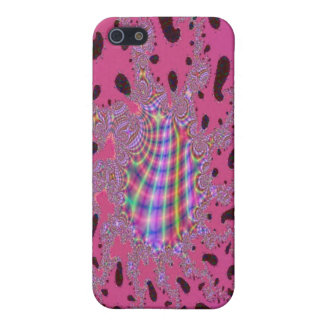 Rainbow Amoeba Fractal Art Cover For iPhone 5