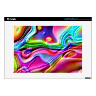 Rainbow Amoeba Laptop and Netbook Skin