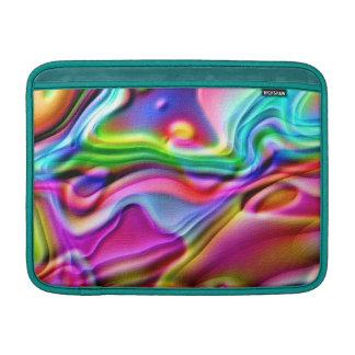 Rainbow Amoeba MacBook Air Sleeve